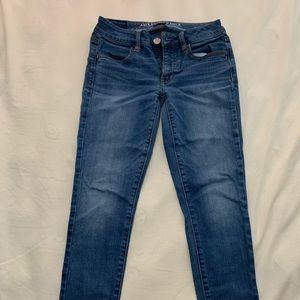 American Eagle Women's super stretch jeans